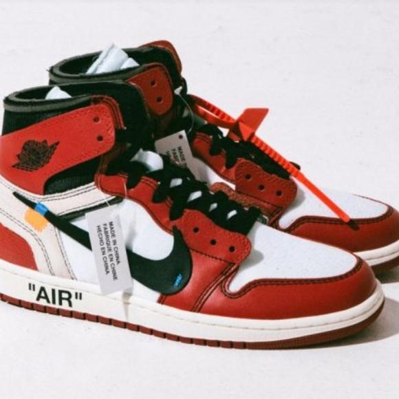 Air Jordan High Og Off White Virgil